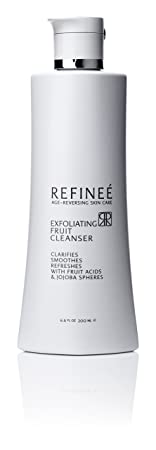 Refinee Exfoliating Fruit Cleanser, 6.6 Ounce