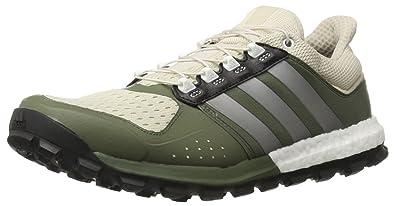 huge selection of f7c4c c07cb adidas Men s Raven m Trail Runner Clear Brown Neo Iron Metallic Base Green  8.5 M