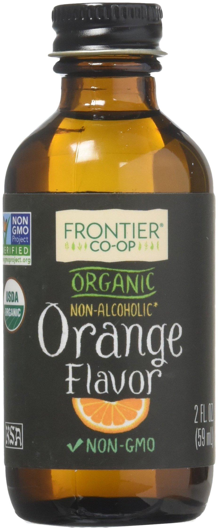 Orange Flavor Alcohol Free Certified Organic 2 Ounces