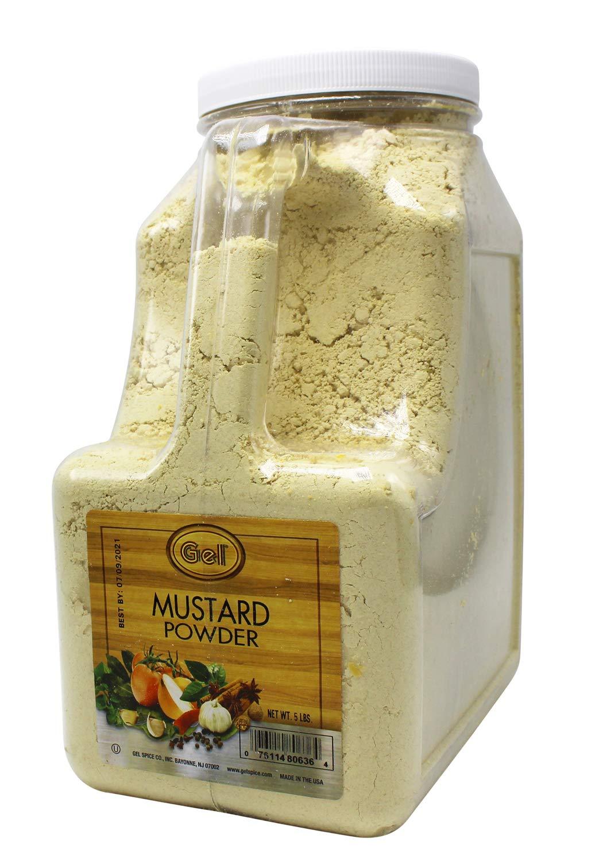 Gel Spice Mustard Powder 5 Lb | Food Service Size by Gel (Image #2)