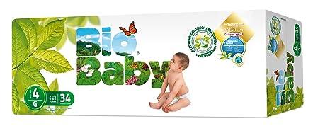Moltex - BBPA4 - Pañales Moltex Bio Baby T4 (9-13 kg) 34