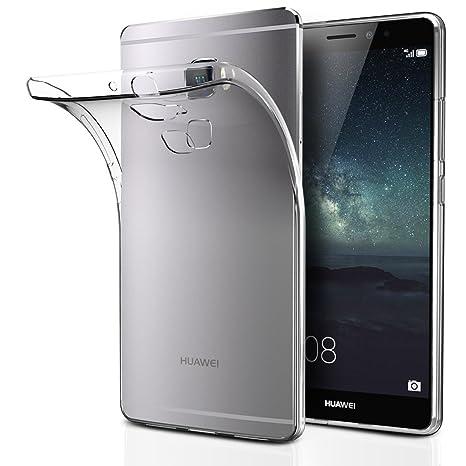 ivoler Funda Carcasa Gel Transparente para Huawei Mate S, Ultra Fina 0,33mm, Silicona TPU de Alta Resistencia y Flexibilidad