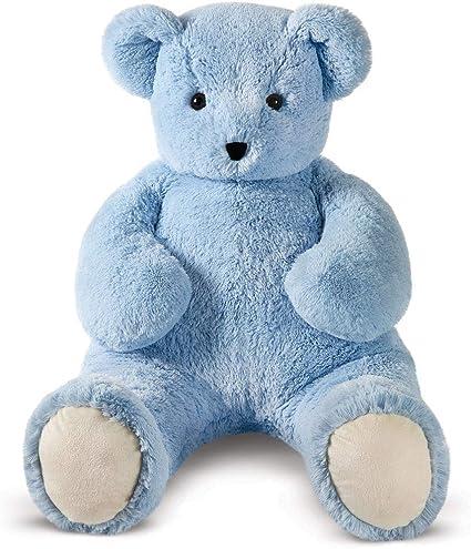 Hay Hay Chicken Stuffed Animal, Amazon Com Vermont Teddy Bear Giant Stuffed Bear Giant Stuffed Animal 4 Foot Light Blue Cuddle Toys Games