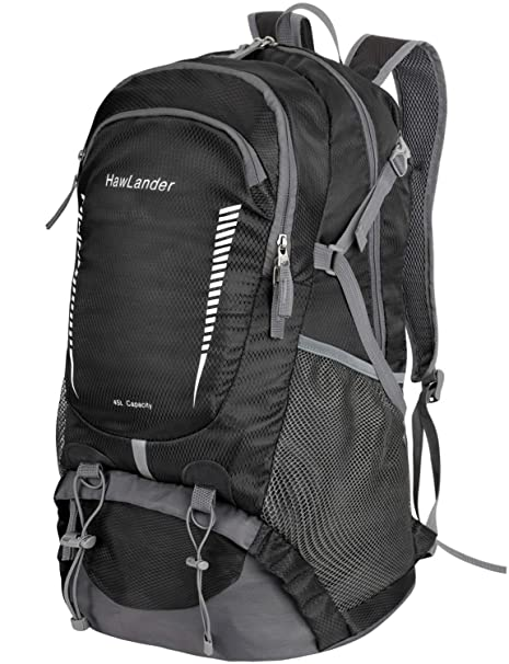 Amazon.com   HawLander Hiking Backpack Packable Travel Daypack ... afb07d71becb9