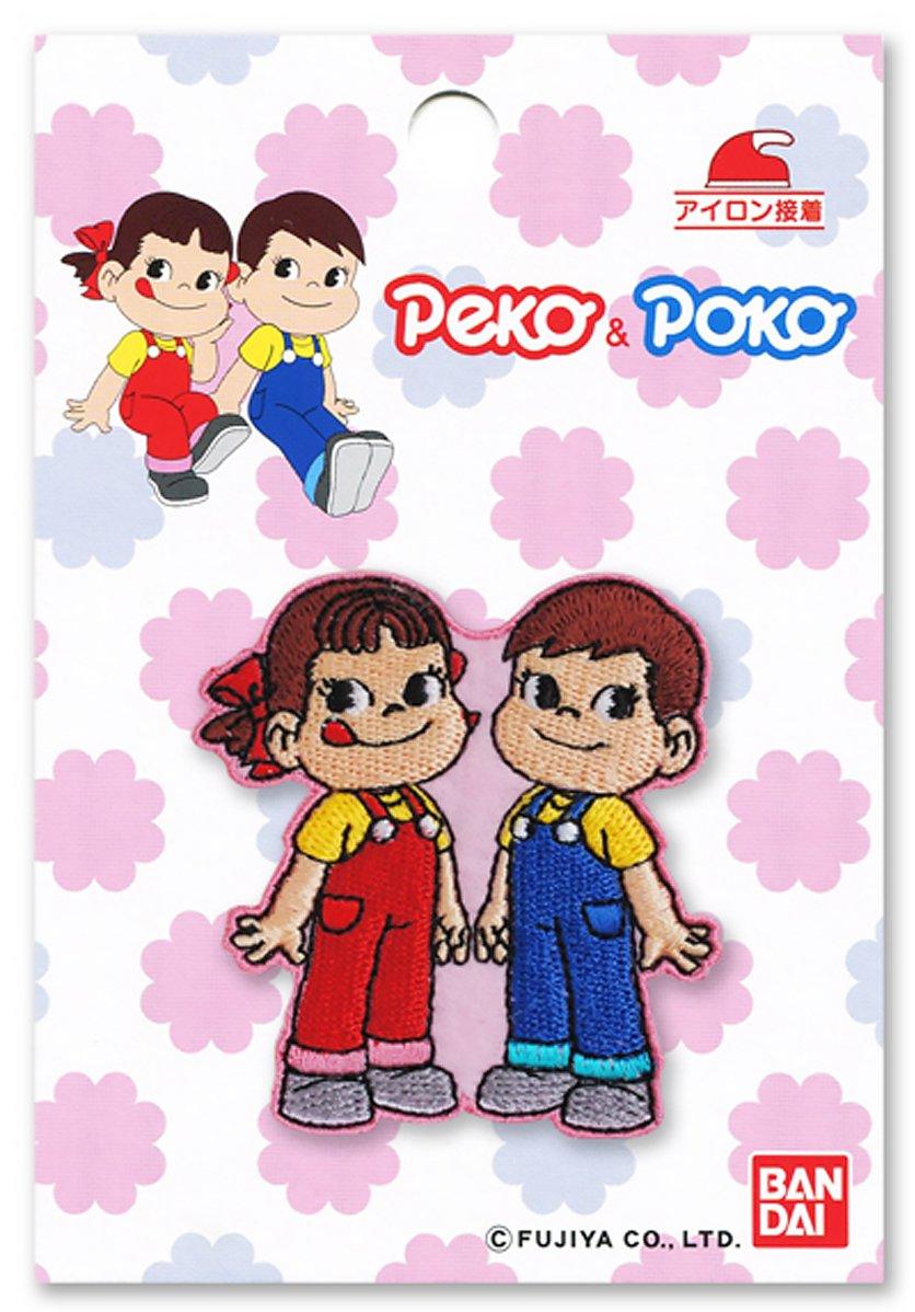 [NEW] 'Peko-chan and Poko-chan' iron adhesion emblem (japan import)