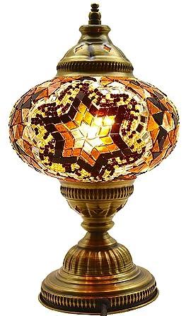 Captivating Turkish Lamp, Mosaic Lamp, Table Lamp, Mosaic Lamps, Moroccan Lanterns,  Turkish