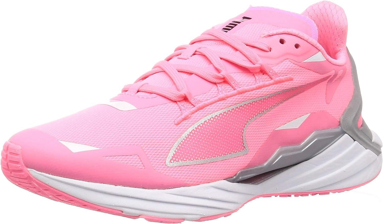 PUMA ULTRARIDE Runner ID WNS, Zapatillas para Correr de Carretera Mujer, Naranja (Luminous Peach/Metallic Silver), 42 EU