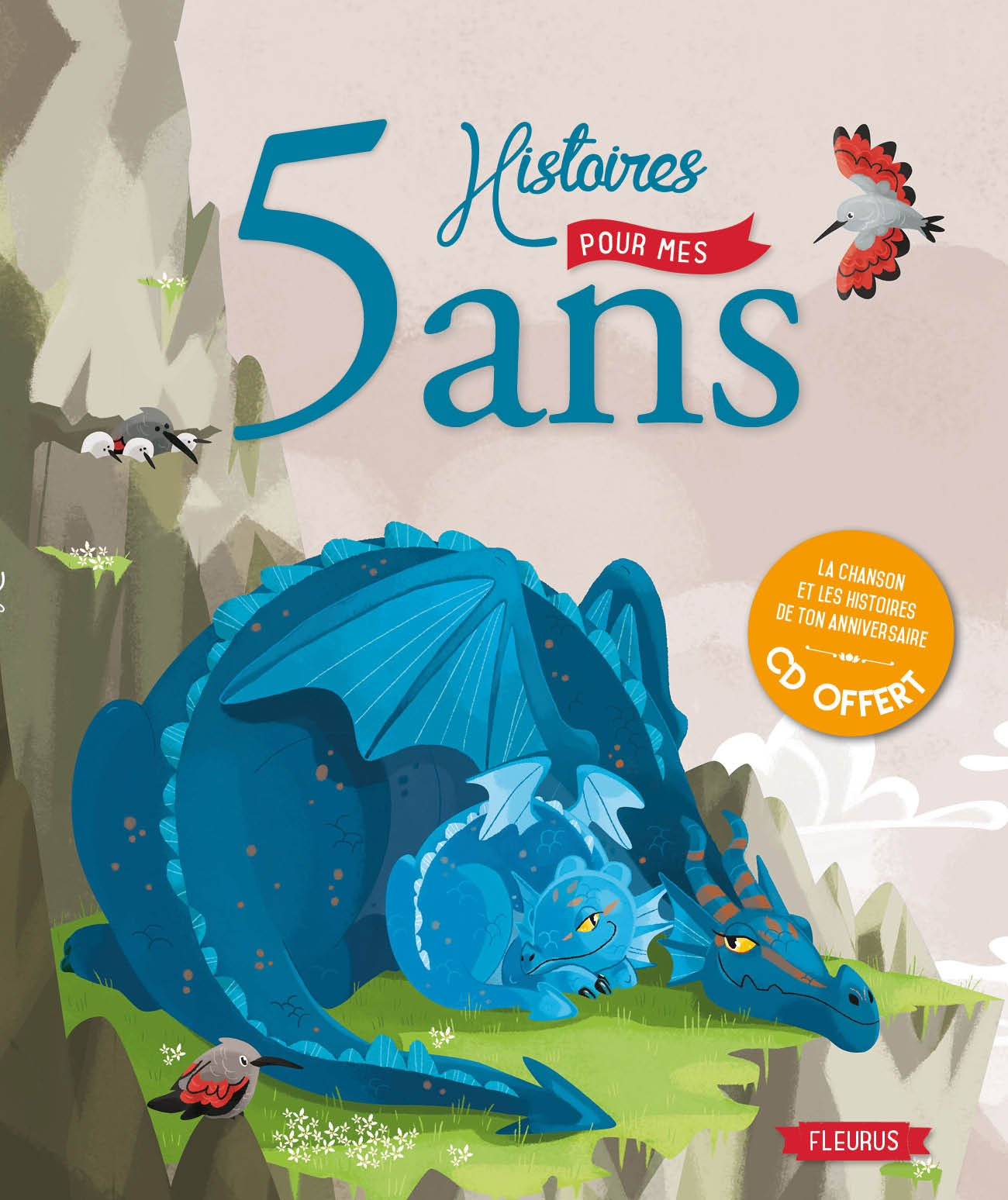Amazon Fr 5 Histoires Pour Mes 5 Ans Cd Collectif Livres