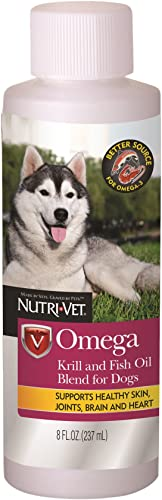 Nutri-Vet Omega Krill and Fish Oil Blend Liquid