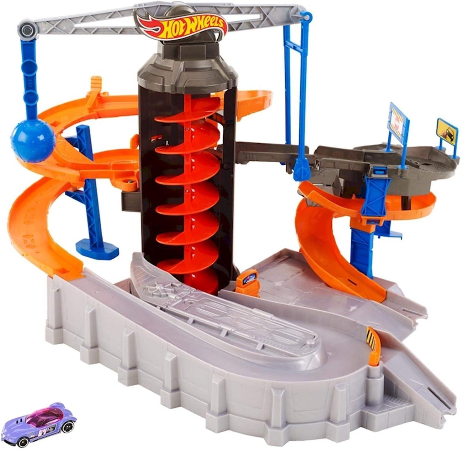 Mattel GmbH - Zona de demolición Hot Wheels: Amazon.es: Juguetes y juegos