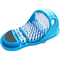 Simple Feet Cleaner, Feet Cleaning Brush, Foot Scrubber for Use in Shower Spa Massager Slippers