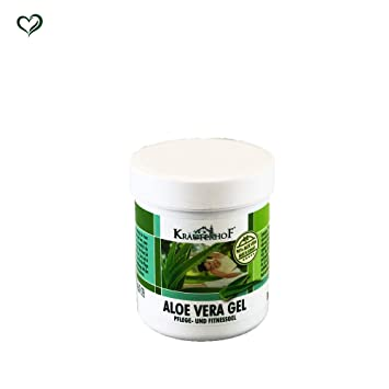Amazon.com : Krauterhof 96% Aloe Vera Pflege- Und Fitness Gel, 250ml/8.45fl.oz. : Beauty