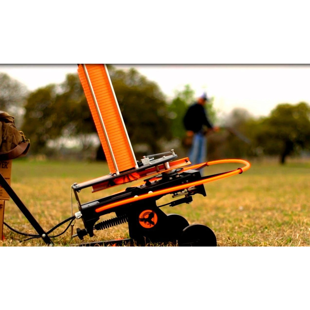 Do-All Outdoors Raven Automatic Clay Pigeon Skeet Thrower with Wheels, 50 Clay Capacity by Do-All Outdoors (Image #3)