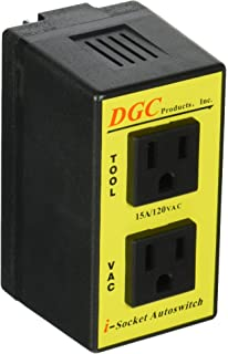 DGC PRODUCTS i-Socket Intelligent Autoswitch with ports for Power Tool and Vacuum; PATENTED