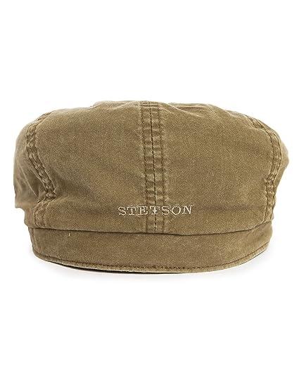 7daf4a41 Stetson Men's Hatteras Delave Organic Cotton Flat Cap at Amazon Men's  Clothing store: