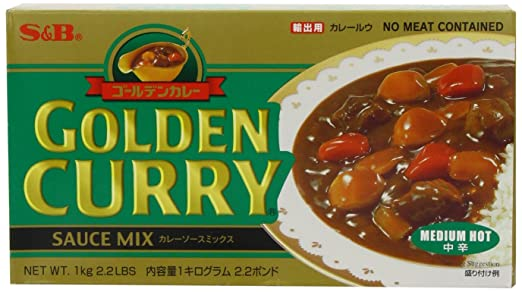 2 opinioni per S and B Medium Hot Golden Curry 1 Kg