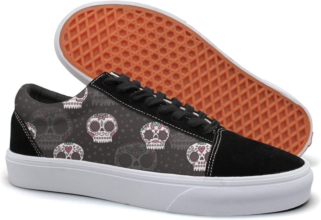 KKLDFD Day Of The Dead Sugar Skull Online 2018 Mens Retro Sneakers
