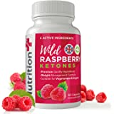 Wild Raspberry Ketones - 5000MG High Strength Serving - 2 Free Gifts With Every Order! - For Men and Women - 60 Capsules - 1 Month Supply - 100% Money Back Guarantee - 100% Suitable For Vegetarians