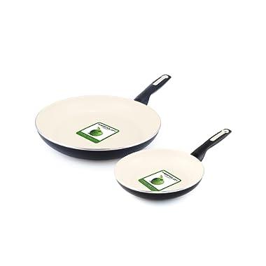 GreenPan Rio 8 & 10  Ceramic Frypan Set