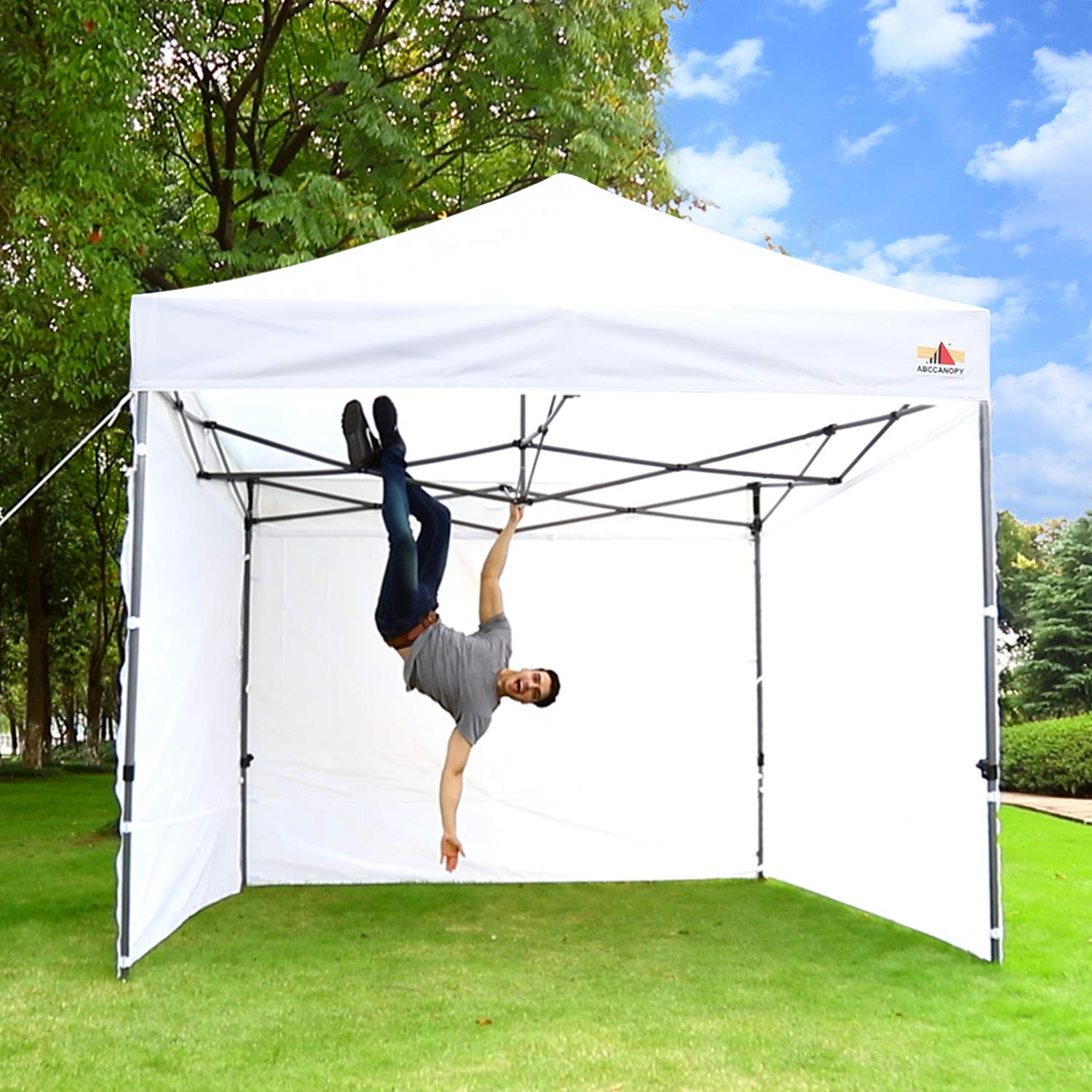 ABCCANOPY 10 x 10 Ez Pop-up Canopy Tent Commercial Instant Tents Market stall