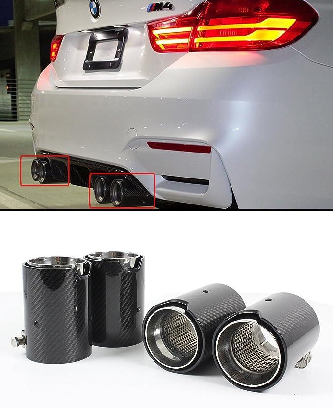 Für 2015 2017 Bmw F80 M3 F82 F83 M4 Karbonfaser Edelstahl Auspuff Tipp Weiterverarbeiter X 4 Auto