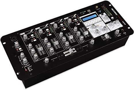 FONESTAR SM-1641UB MESA DE MEZCLAS DJ USB/SD/MP3/BLUETOOTH: Amazon ...