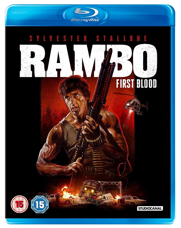 Rambo: First Blood Edizione: Regno Unito Italia Blu-ray: Amazon.es: Cine y Series TV