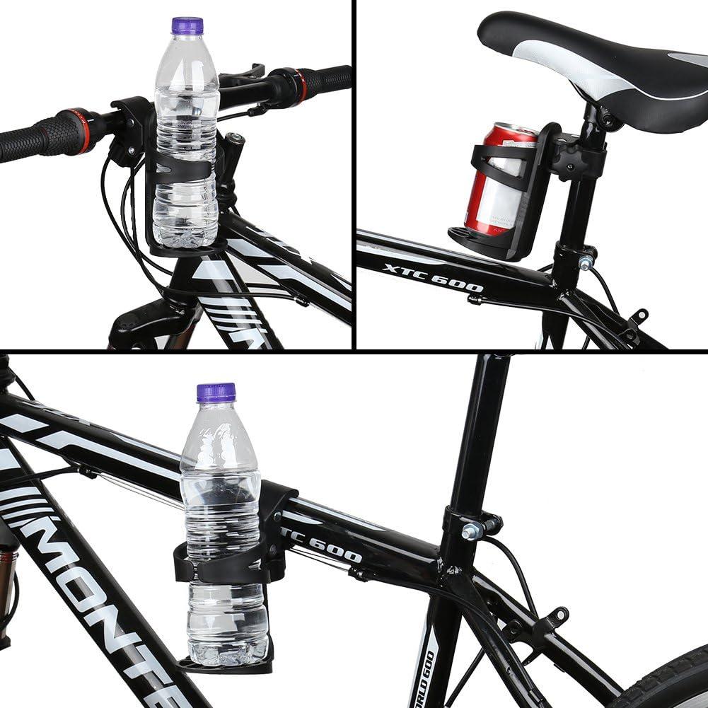 Accmor Bike Cup Holder, Universal Cup Holder, Bottle Holder for Large Size Bottles, 360 Degrees Rotation Drink Holder for Bicycle, Stroller, Wheelchair, Walker, 1 Pack