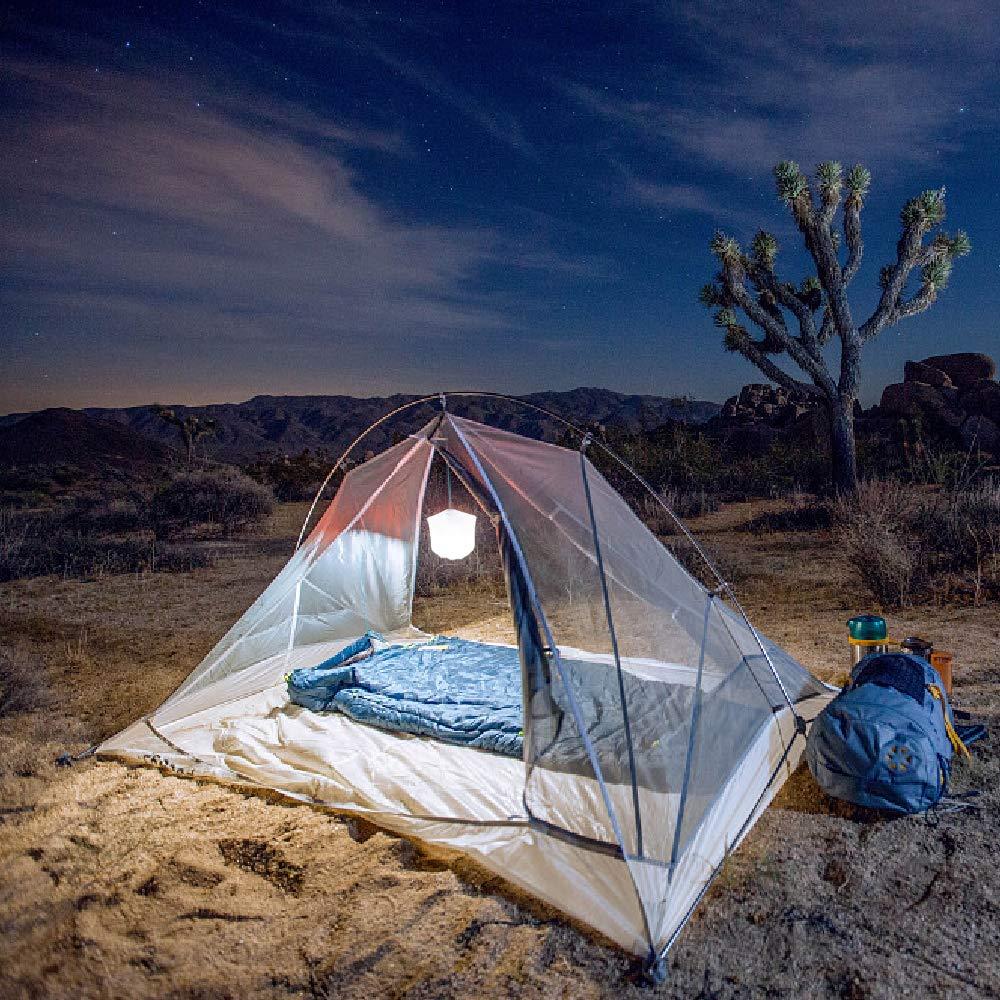 Fiestas Linterna Solar Inflable port/átil Ultraligera Impermeable para embarcaciones Camping l/ámpara de Mesa luz Nocturna Acelane Patio Kayak Yoga mochileros