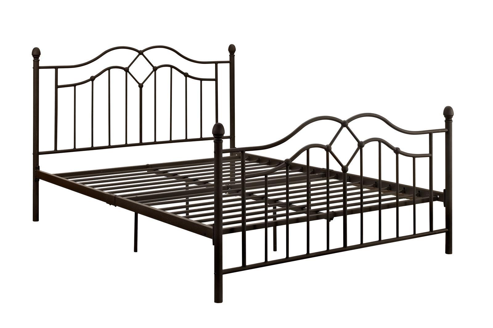 DHP Tokyo Metal Bed with Memoir 10'' Mattress, Bronze, Queen