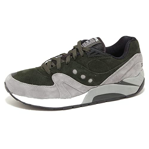 6242P sneaker uomo SAUCONY G9 CONTROL verde/grigio shoe men