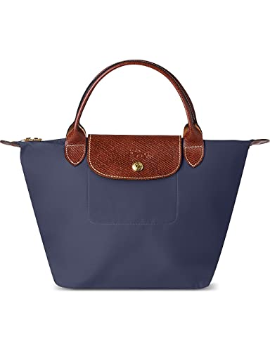 LONGCHAMP Le Pliage Small Handbag (Navy Blue)