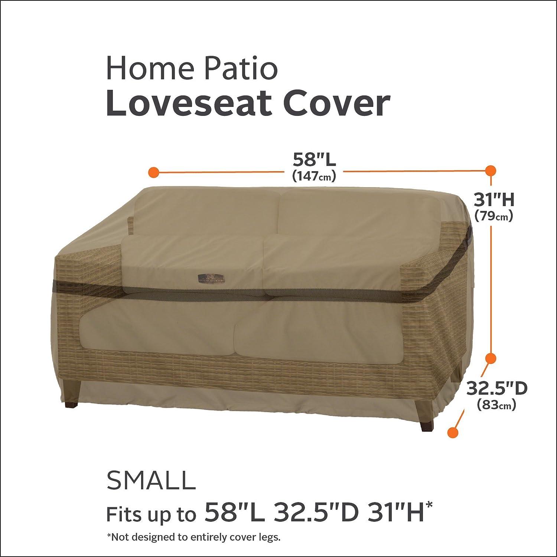 Amazon Classic Accessories Hickory Heavy Duty Patio Sofa