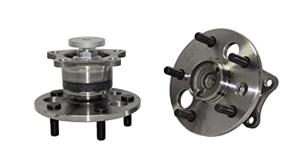 (Both) Rear Wheel Hub and Bearing Assembly Set [Will Only Fit Rear ABS  Models] 5-Lug - for [99-03 RX300 FWD] - 92-01 Lexus ES300 - [95-04 Toyota