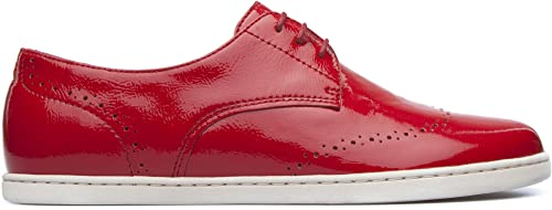 Camper Uno Zapatillas para Mujer Rojo (Medium Red 001