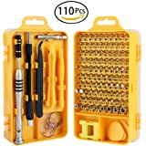 Scout 110 PCs Tool Kit for iPhone X, 8, 7, Smartphone, Macbook,Tablet, Cellphone, PC, Game Console, Mobiles, and Other Electronics Devices