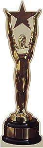 aahs!! Engraving Star Trophy Award Cardboard Standup, 6 feet