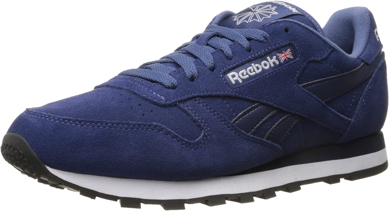 Expresamente Irradiar silencio  Amazon.com | Reebok Men's Classic Leather Suede Classic Sneaker | Fashion  Sneakers
