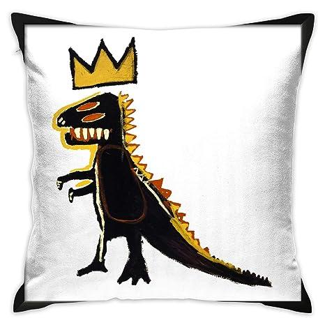 Amazon.com: KkdsKkds Jean-Michel Basquiat Funda de cojín ...