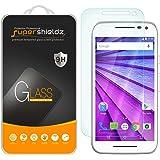 Supershieldz for Motorola Moto G (3rd Gen/Generation) Tempered Glass Screen Protector, Anti-Scratch, Anti-Fingerprint, Bubble Free, Lifetime Replacement