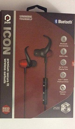 13e8852866a Amazon.com: Pom-Gear-ICON-Premium-Secure-Fit-Bluetooth-Wirelss ...