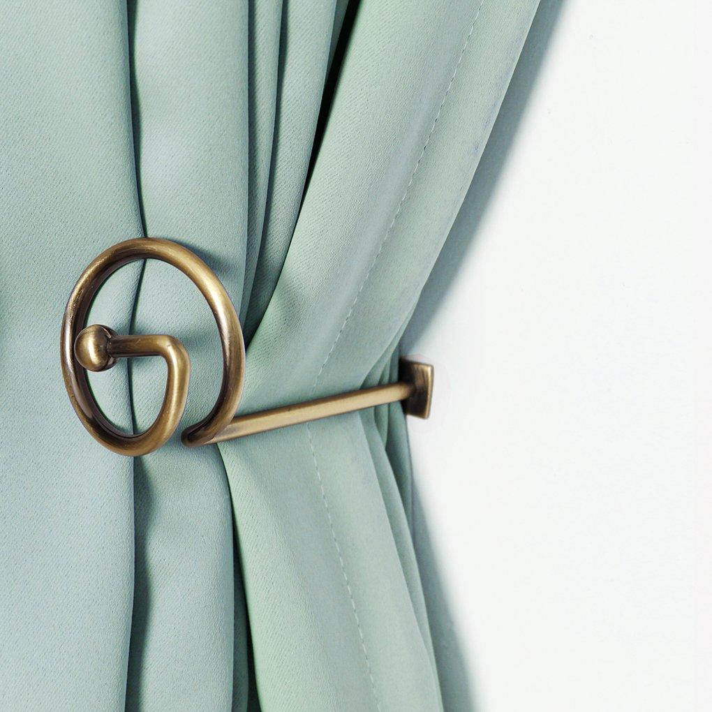 Shop amazon window holdbacks curtain holdbacks window decorative hook draperies metal set of 2 bronze amipublicfo Images