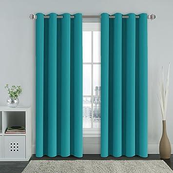 gardinen petrol. Black Bedroom Furniture Sets. Home Design Ideas
