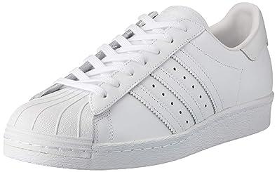 Scarpa Uomo Adidas Sportiva, Originals Bianco 80s Superstar