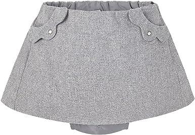 Mayoral - Falda - para bebé niña gris gris: Amazon.es: Ropa y ...