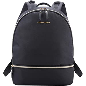 Multi-Function Rucksack with USB Port Insulated Pockets for Baby Care flintronic Baby Changing Bag Black Include 1*Independent Insulated Pocket /& 1*USB Cable Baby Diaper Travel Backpack