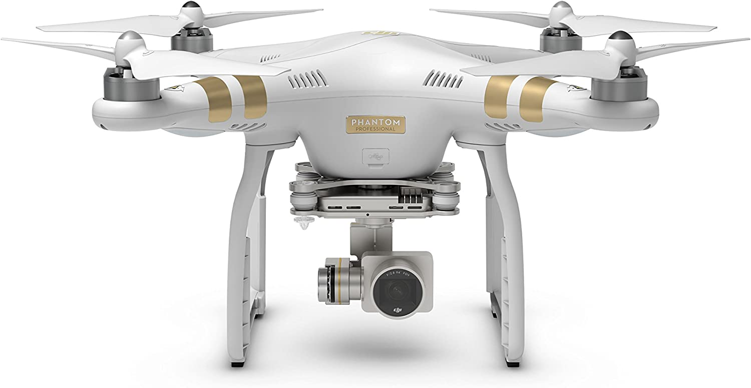 DJI Phantom 3 Professional follow me drone is at #8 in the list of best follow me drones