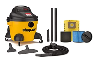 Shop-Vac 6 Gallon 3.0 Peak HP Contractor Wet Dry Vacuum - 9653610
