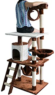 Merax Cat Tree Cat Tower House with Condo Scratching Post