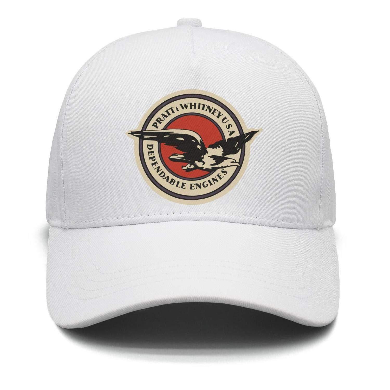 9c8bd8c6d471a1 Amazon.com: M.STRA Unisex White Snapback Hat for Mens Womens Printing Pratt-and-Whitney-Logo-  Caps: Clothing
